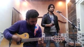 aadat kalyug atif aslam guitar cover palash gupta faizan ahmad
