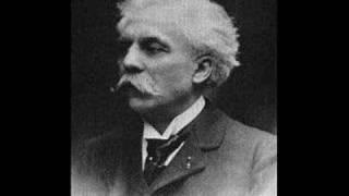 Fauré plays Fauré Pavane, op 50