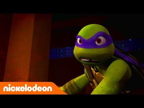 Las Tortugas Ninja   Pelea contra el robot   TMNT   Nickelodeon en Español