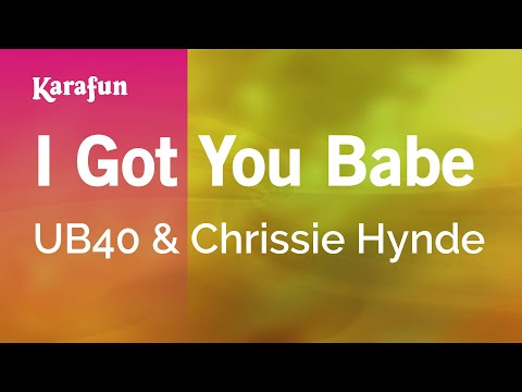 Karaoke I Got You Babe - UB40 *