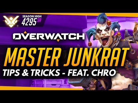 Overwatch | Master Junkrat - Tips and Tricks (ft ProLikeChro)