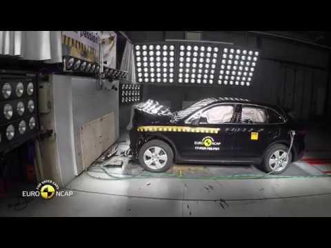 Euro NCAP Crash Test of Porsche Cayenne