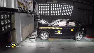 Euro NCAP Crash Test of Porsche Cayenne