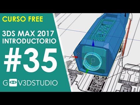 Introducción a 3ds Max 2017 35 Xwing detalles de Generador de Energía