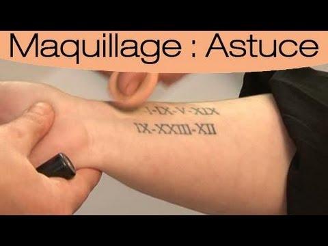Astuce Camoufler Un Tatouage Youtube