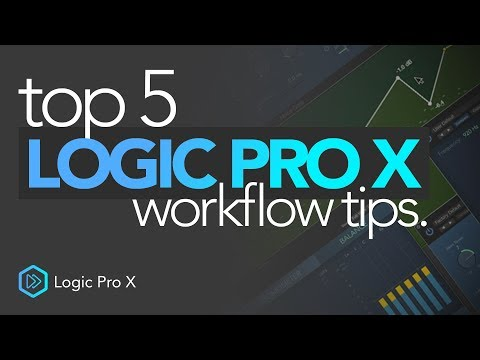 Top 5 Workflow Tips | Logic Pro X