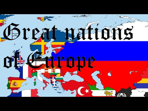 The Great Nations Of Europe