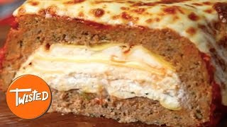 Lasagna Stuffed Meatloaf Recipe  | Stuffed Lasagna Recipes | Best Meatloaf Dishes | Twisted