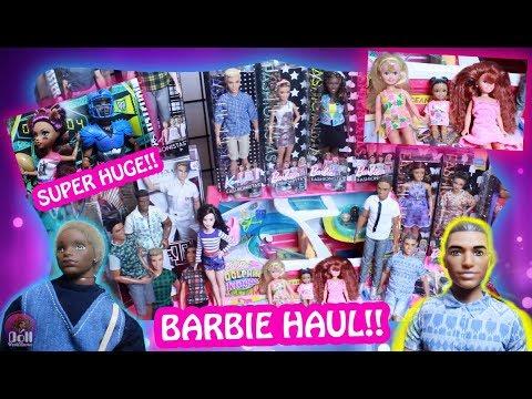 Super HUGE Barbie Haul!! Fashionistas, Clothes, Toys & Dollhouse