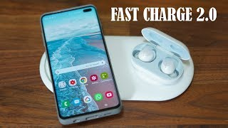 Official Samsung Wireless Charger Duo Pad for Galaxy S10 - Fast Charge 2.0 (12W)