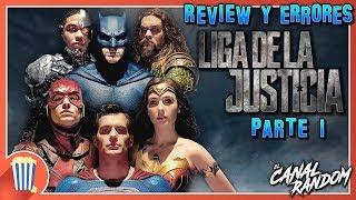 Errores de películas la liga de la justicia review crítica y resumen justice league