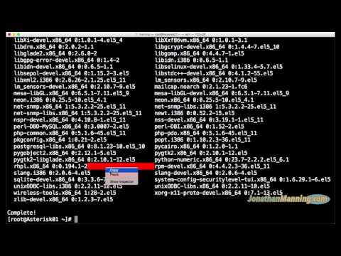 How to install Asterisk 11 on a CentOS Rackspace Cloud VOIP Server with Dahdi