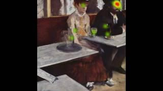 EyeTracking on Edgar Degas
