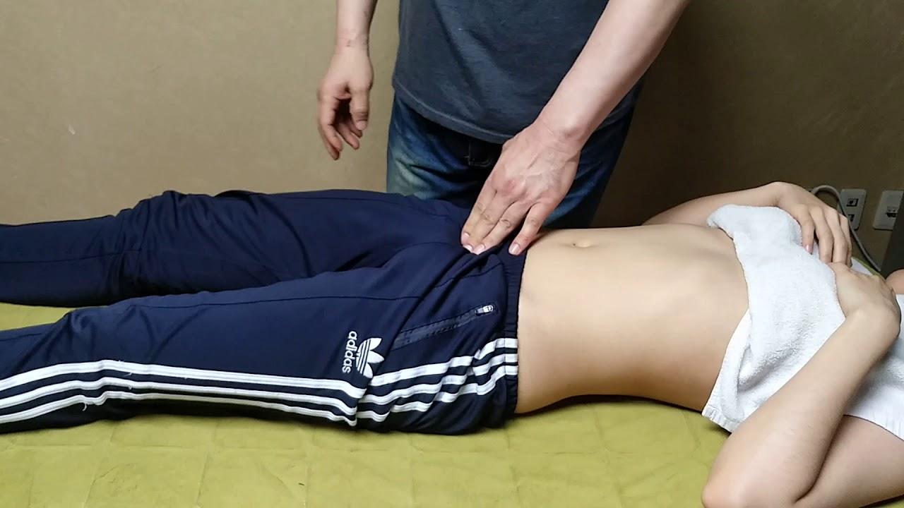 Pyramidalis - lower abdominal pain massage / 추체근 - 하복부 통증 마사지 수기요법