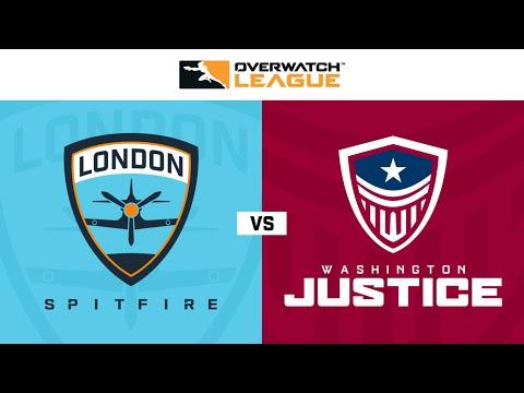 Washington Justice vs London Spitfire vod