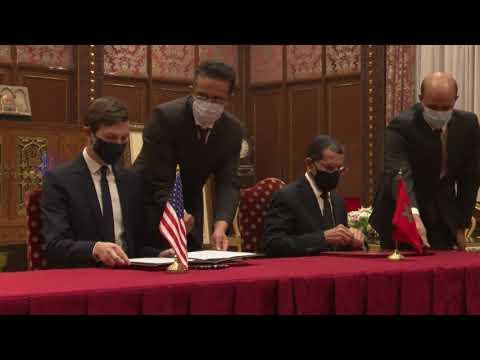 SA Kushner, NSA Ben Shabbat Meet Moroccan King, December 22, 2020