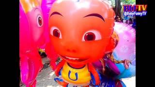balon mainan anak anak   balon karakter masha  boboboy  ipin upin   toys kids balloon air