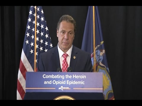 Governor Cuomo Signs Legislation to Combat the Heroin and Opioid Epidemic in New York