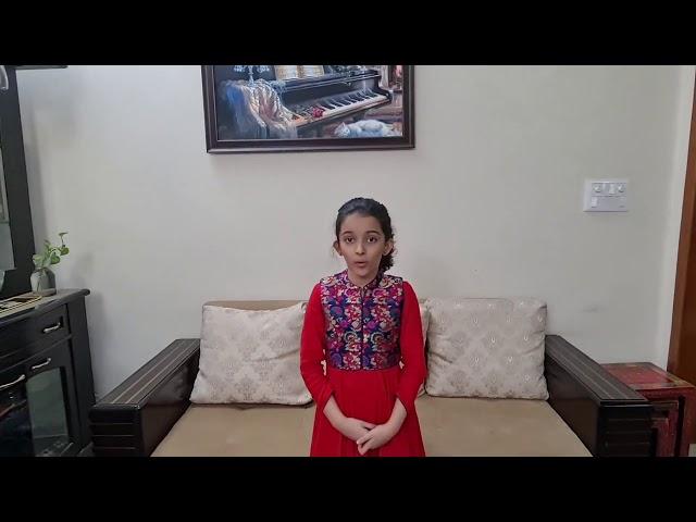 Dance Entry | Prisha Dhar | Noida, India