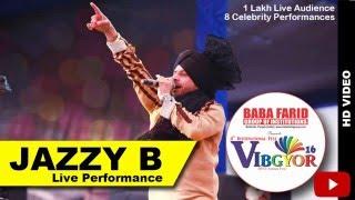 jazzy b performing at vibgyor16    sucha soorma
