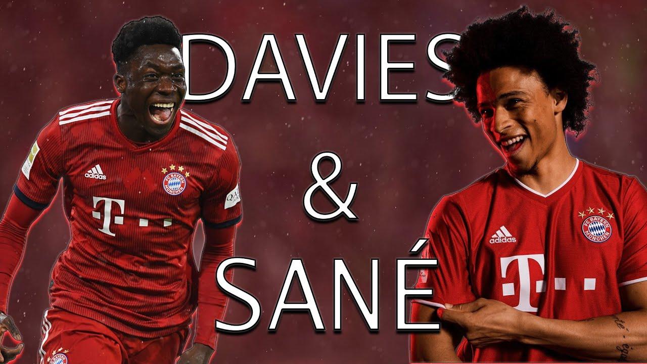 Alphonso Davies & Leroy Sané • The Speed Duo • Insane Skills [HD]