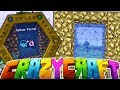 TELEPORTING TO THE AETHER - MINECRAFT'S OLDEST MOD PACK CRAZY CRAFT SURVIVAL Season 2 #5