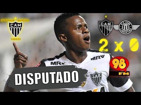 GALO 2 x 0 Libertad (Eduardo Madeira - 98FM) - Libertadores 2017