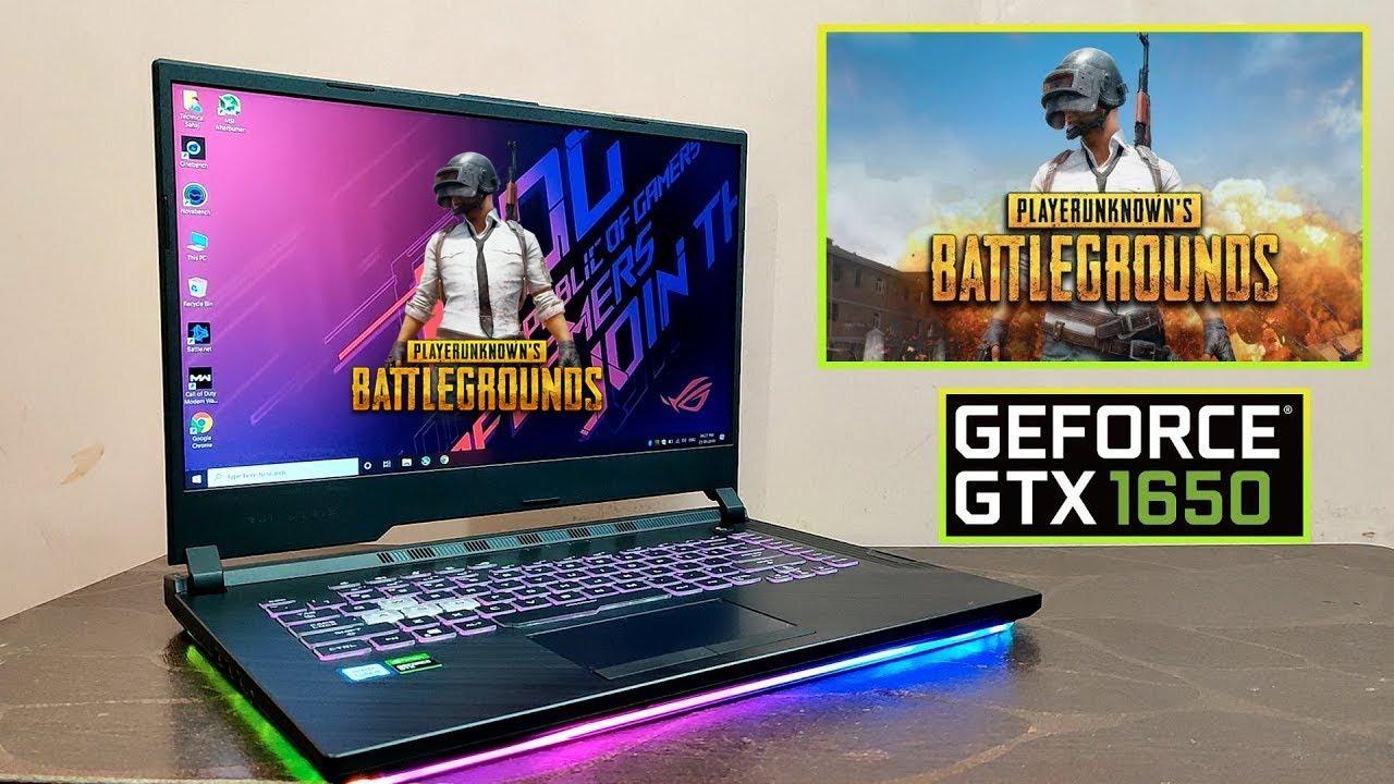 Pubg PC Gaming Review on Asus ROG Strix G (i5 9300H) (GTX 1650)