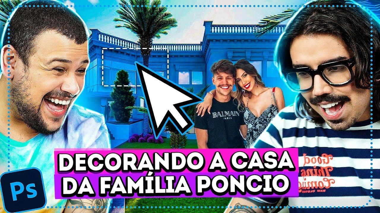 DECORANDO A NOVA CASA DOS PONCIO PELO PHOTOSHOP | Diva Depressão