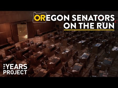 Republican Senators On The Run In Oregon