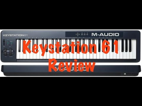 m audio keystation 61 mark ii midi controller review youtube. Black Bedroom Furniture Sets. Home Design Ideas