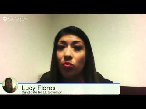 G+ Hangout: A Special Interview with Lucy Flores, Nevada State Assemblywoman & Candidate for Neva...
