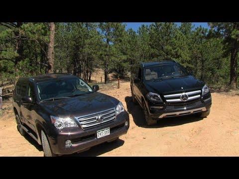 2013 Mercedes-Benz GL350 vs Lexus GX460 Off-Road Mountain Mashup Review
