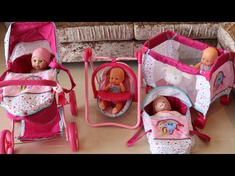 My little Pony Baby Doll Nursery Centre Playpen HighChair Dolls Pram Baby Annabell Lil Cutesie