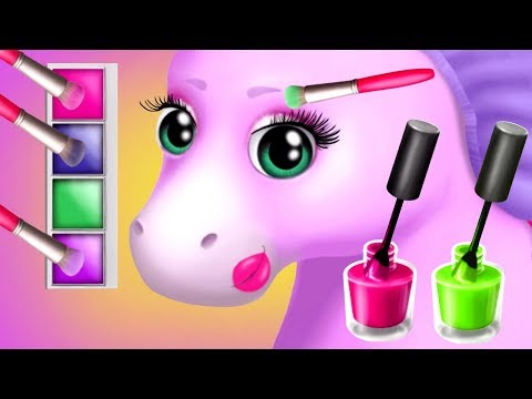 Thumbnail: Fun Baby Pony Care Kids Games Play & Learn Colors, Makeup, Dress Up for Children