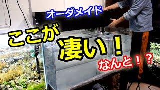 【圧倒的濾過能力】オーダーメイド上部フィルター【濾過槽デカ過ぎ】