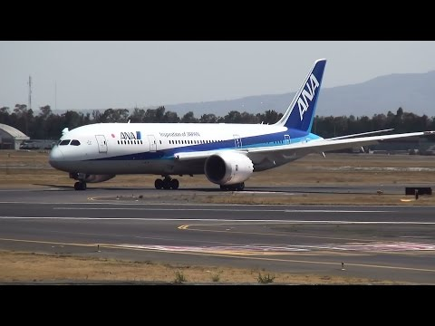 Welcome to Mexico ANA(All Nippon Airways B787-8)