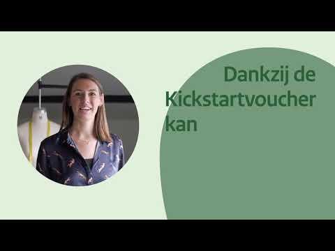 Kickstartvoucher helpt Kitty bij haar ondernemingsplannen