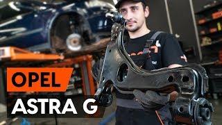 Como e quando mudar Braço oscilante de suspensão traseiro e dianteiro OPEL ASTRA G Hatchback (F48_, F08_): vídeo tutorial