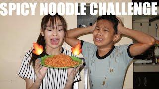 Spicy Noodle Challenge w Awra Briguela  Andree Bonifacio