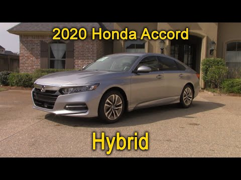 2020 Honda Accord Hybrid Details And Tour   Is The Accord Hybrid The Most Fuel Efficient Sedan?