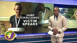 TVJ News: Jump Challenge Victim Speaks - February 17 2020