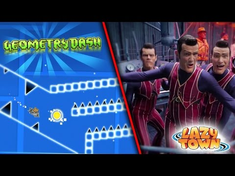We Are Number One But It's A Geometry Dash Layout