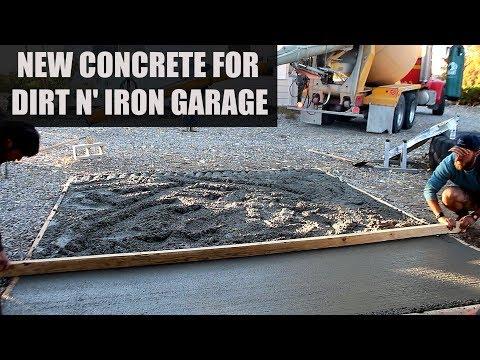 Dirt bike garage extension – DIY project.