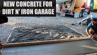 Dirt bike garage extension - DIY project.