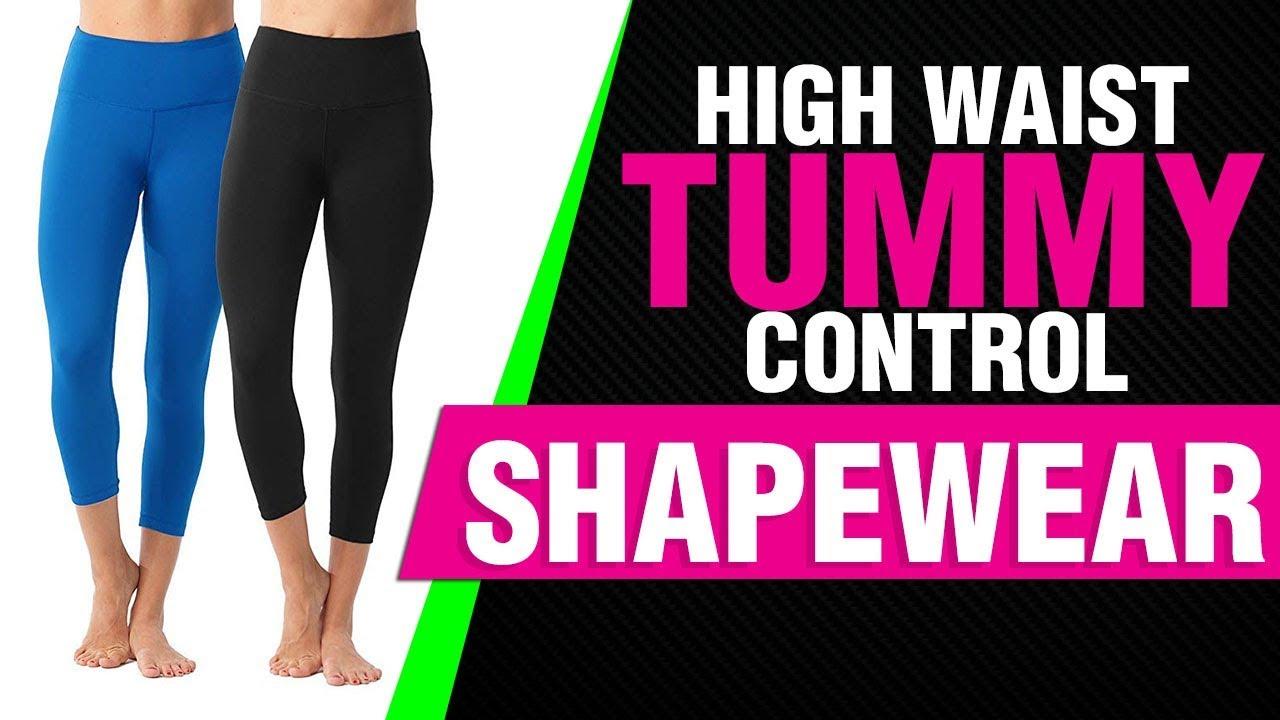 bf282540ab 90 Degree By Reflex – High Waist Tummy Control Shapewear – Power Flex Capri  Video Review