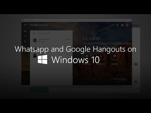 How To Create Your Very Own Google Hangouts And WhatsApp Apps