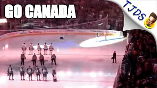 Mic Fail During US National Anthem Proves Why Canadians Are The Best