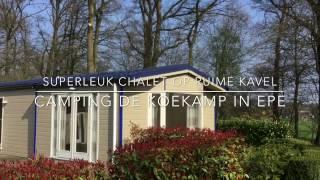 Superleuk chalet voorzien van alle luxe op camping de Koekamp in Epe