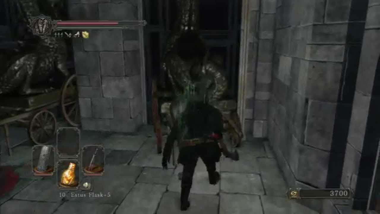 Dark Souls 2 Cursed Trailer: Dark Souls II (129) Drangleic Castle: Cursed Painting